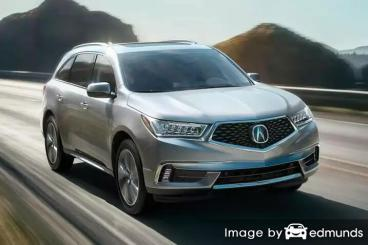 Insurance quote for Acura MDX in Tampa