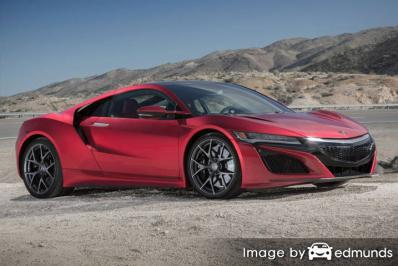 Insurance rates Acura NSX in Tampa
