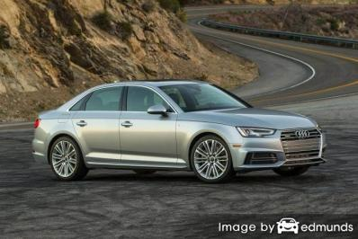Insurance quote for Audi A4 in Tampa