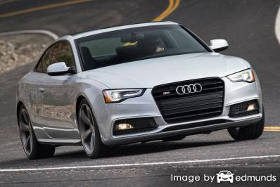 Insurance quote for Audi S5 in Tampa