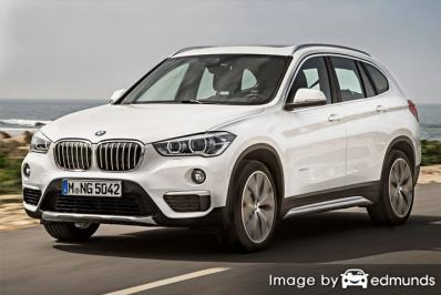 Insurance rates BMW X1 in Tampa