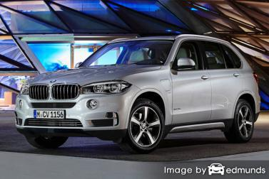 Insurance rates BMW X5 eDrive in Tampa