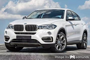 Insurance rates BMW X6 in Tampa