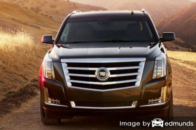 Insurance rates Cadillac Escalade in Tampa