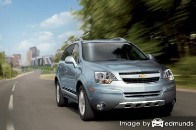 Insurance rates Chevy Captiva Sport in Tampa