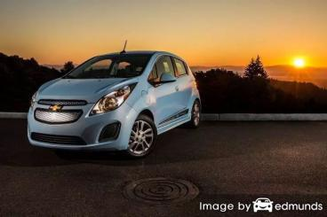 Insurance quote for Chevy Spark EV in Tampa