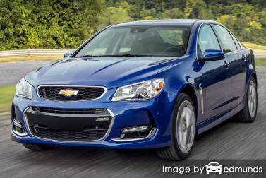 Insurance rates Chevy SS in Tampa