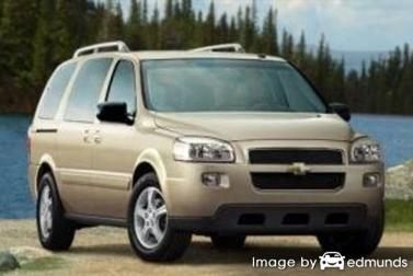 Insurance rates Chevy Uplander in Tampa