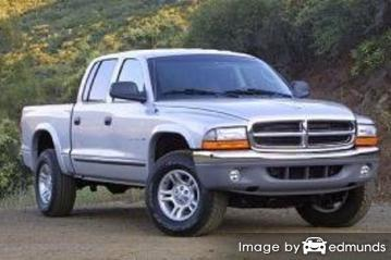 Insurance rates Dodge Dakota in Tampa