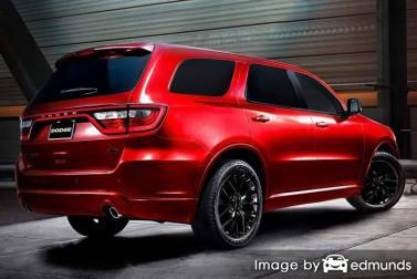 Insurance rates Dodge Durango in Tampa