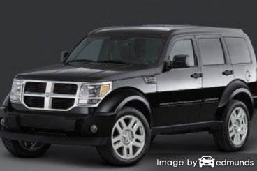 Insurance rates Dodge Nitro in Tampa