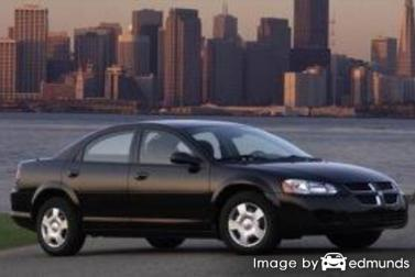 Insurance rates Dodge Stratus in Tampa