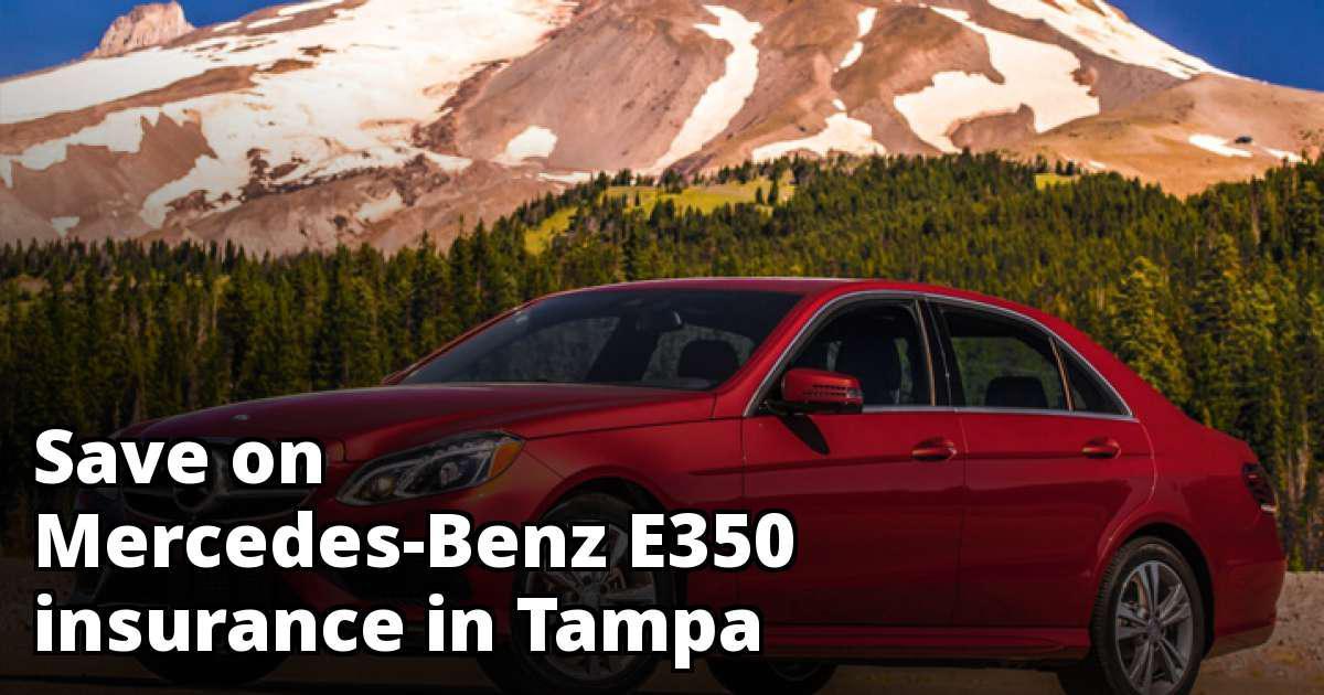Best Mercedes-Benz E350 Insurance in Tampa, FL