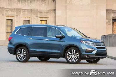 Insurance rates Honda Pilot in Tampa