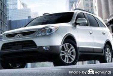 Insurance quote for Hyundai Veracruz in Tampa