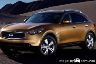 Insurance quote for Infiniti FX35 in Tampa