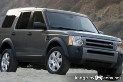 Insurance quote for Land Rover LR3 in Tampa