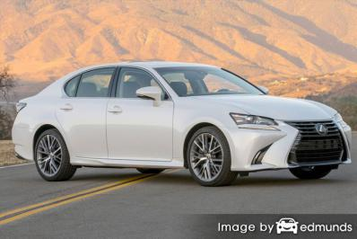 Insurance quote for Lexus GS 350 in Tampa