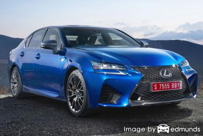Insurance rates Lexus GS F in Tampa