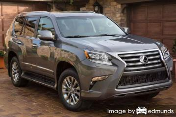 Insurance quote for Lexus GX 460 in Tampa