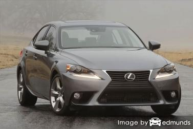 Insurance quote for Lexus IS 350 in Tampa