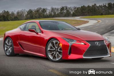 Insurance quote for Lexus LC 500 in Tampa