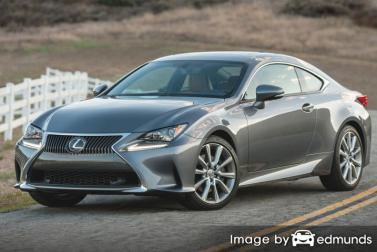 Insurance rates Lexus RC 300 in Tampa