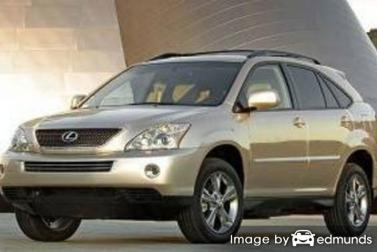 Insurance quote for Lexus RX 400h in Tampa