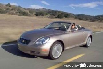 Insurance quote for Lexus SC 430 in Tampa
