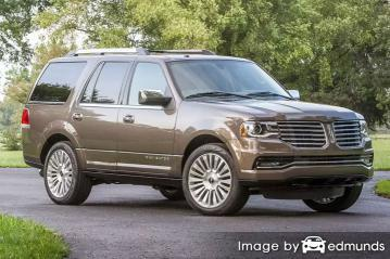 Insurance rates Lincoln Navigator in Tampa