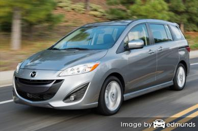 Insurance quote for Mazda 5 in Tampa