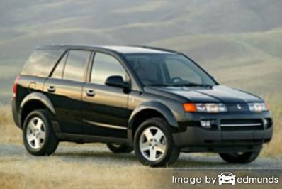 Insurance rates Saturn VUE in Tampa
