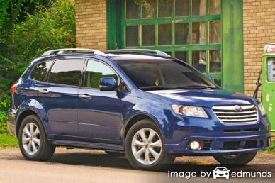Insurance rates Subaru Tribeca in Tampa