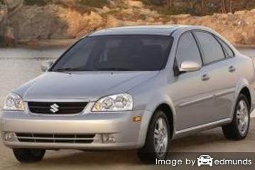 Insurance for Suzuki Forenza