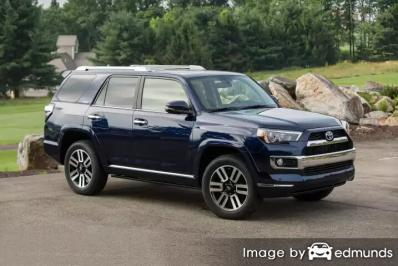 Insurance rates Toyota 4Runner in Tampa