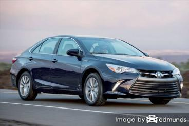 Insurance quote for Toyota Camry Hybrid in Tampa