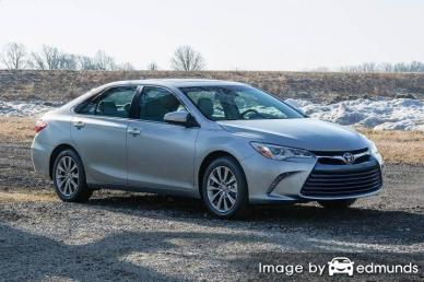 Insurance quote for Toyota Camry in Tampa