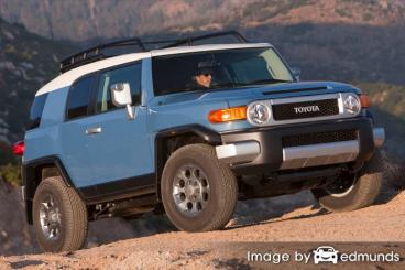 Insurance rates Toyota FJ Cruiser in Tampa