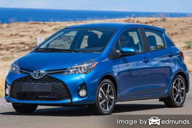 Insurance quote for Toyota Yaris in Tampa