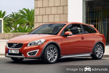 Insurance rates Volvo C30 in Tampa